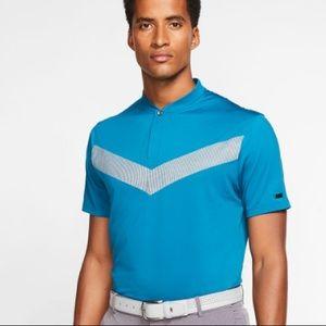 Tiger Woods Nike vapor polo golf shirt NWT